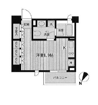 レジデンス三宿309号室
