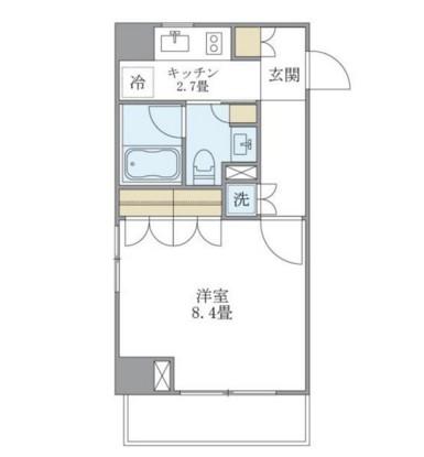 アパートメンツ白金高輪201号室