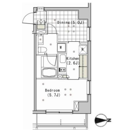アパートメンツ白金高輪203号室