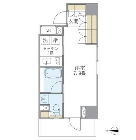 アパートメンツ白金高輪502号室