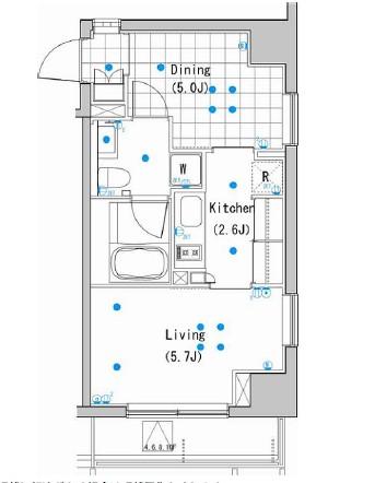 アパートメンツ白金高輪503号室