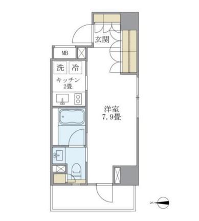 アパートメンツ白金高輪902号室