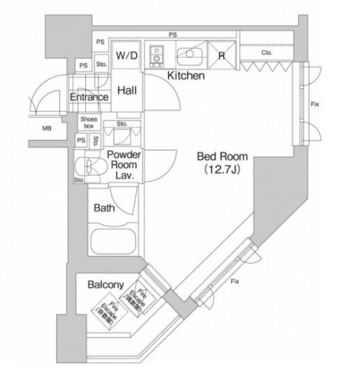プライムアーバン本駒込1101号室