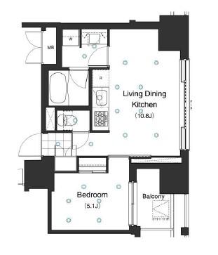 アパートメンツ本駒込1102号室