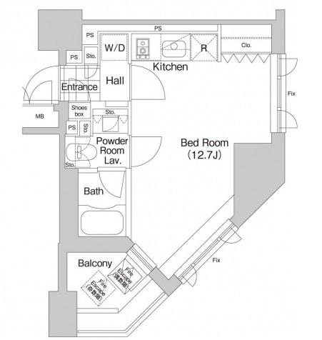 アパートメンツ本駒込601号室