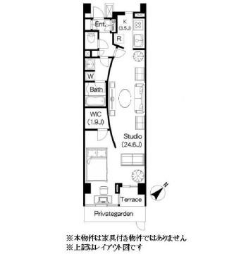 Brillia ist 三軒茶屋 アイビーテラス116号室
