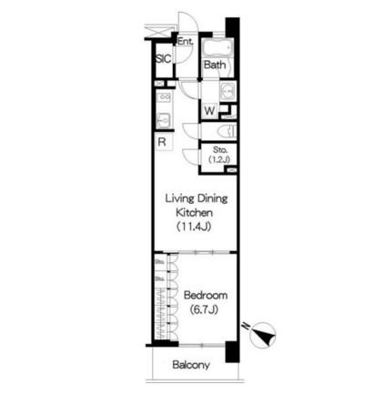 Brillia ist 三軒茶屋 アイビーテラス304号室