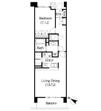 アパートメンツ三軒茶屋アイビーテラス407号室