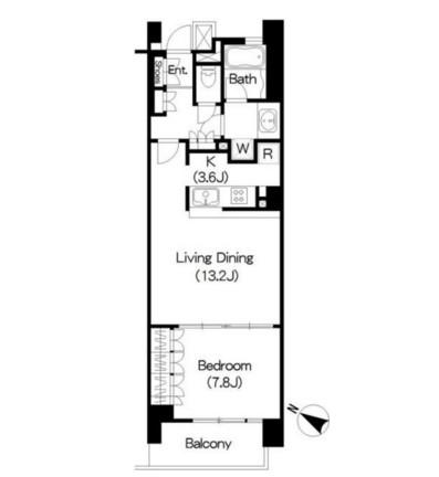 アパートメンツ三軒茶屋アイビーテラス408号室