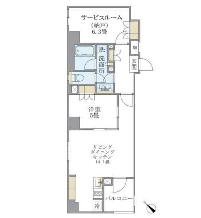 アパートメンツ不動前202号室