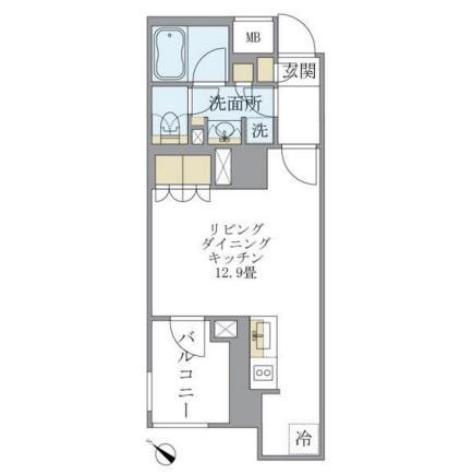 アパートメンツ不動前301号室