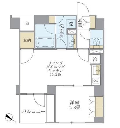 アパートメンツ不動前304号室