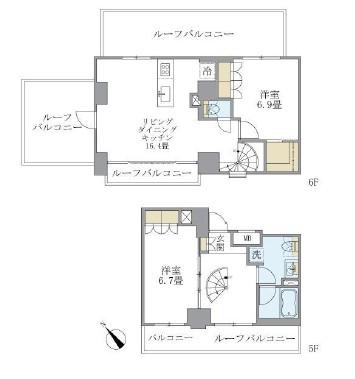 アパートメンツ不動前504号室