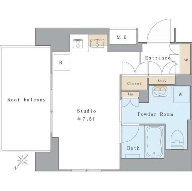 アパートメンツ北沢KEYAKI306号室