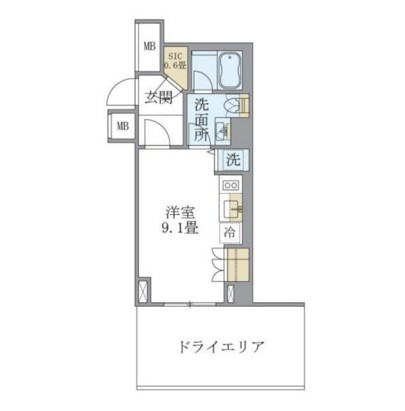 アパートメンツ北沢104号室