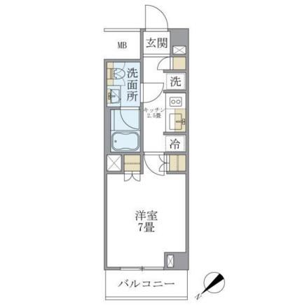 Brillia ist 北沢210号室