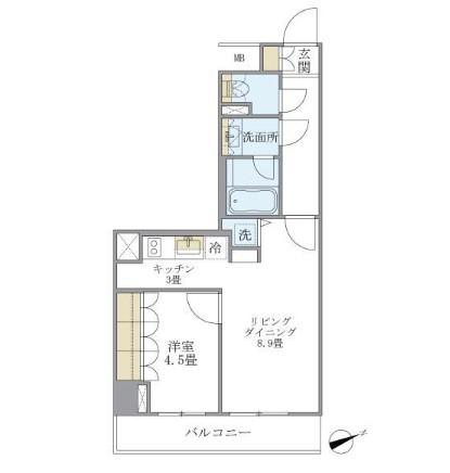 アパートメンツ北沢303号室