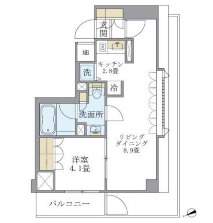 アパートメンツ北沢401号室