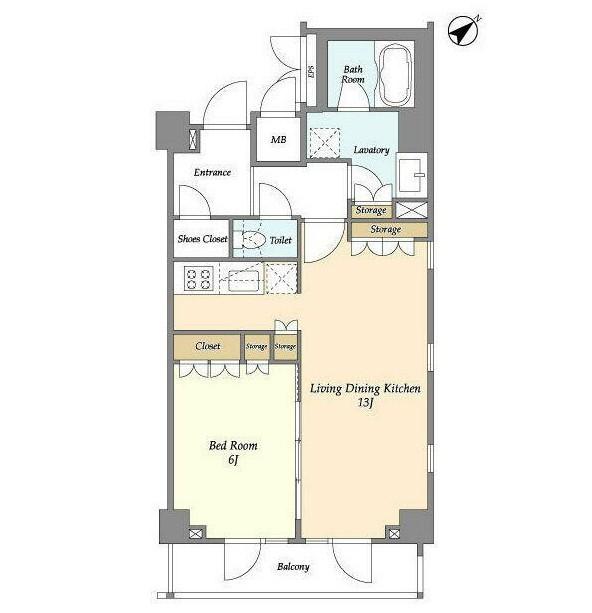 アパートメンツ都立大学205号室