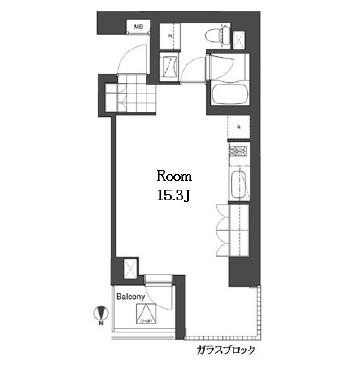 アパートメンツ元麻布内田坂301号室