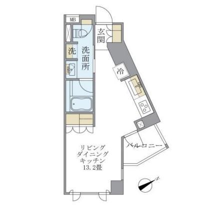 アパートメンツ元麻布内田坂304号室