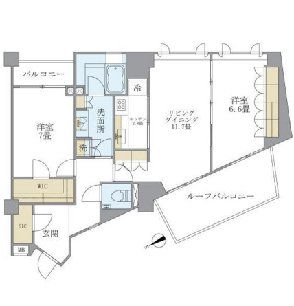 アパートメンツ元麻布内田坂604号室