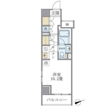 アパートメンツ銀座東1004号室