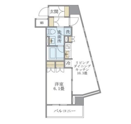 アパートメンツ銀座東1005号室