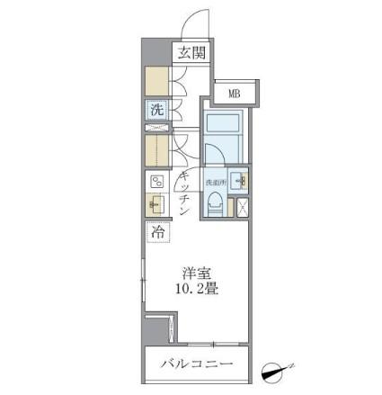 アパートメンツ銀座東1203号室
