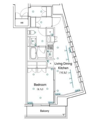 アパートメンツ銀座東405号室