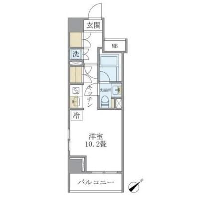 Brillia ist 銀座東504号室
