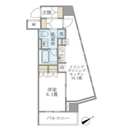 Brillia ist 銀座東505号室