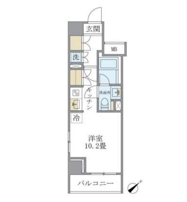 Brillia ist 銀座東704号室