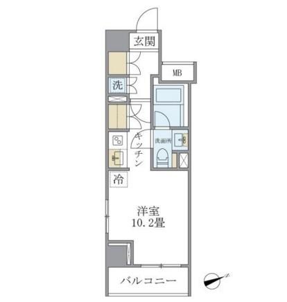 Brillia ist 銀座東904号室