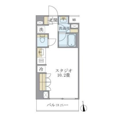 ルフォンプログレ学芸大学302号室