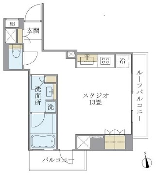ルフォンプログレ学芸大学502号室