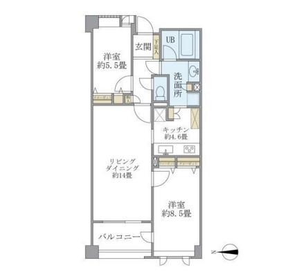 アパートメンツ東山202号室
