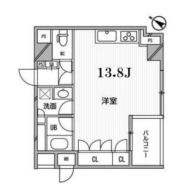 アパートメンツ目黒行人坂208号室