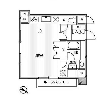 アパートメンツ目黒行人坂302号室
