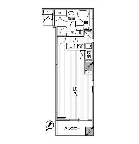 アパートメンツ目黒行人坂405号室