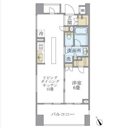 アパートメンツ三田1001号室