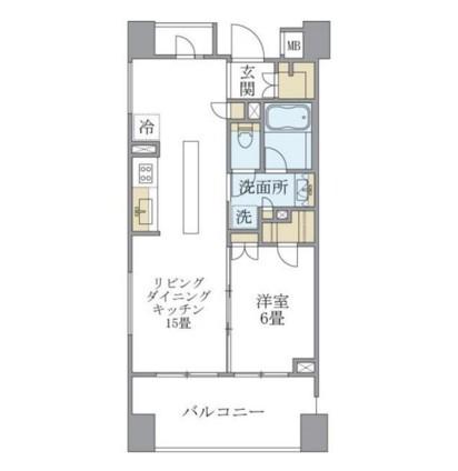 アパートメンツ三田401号室