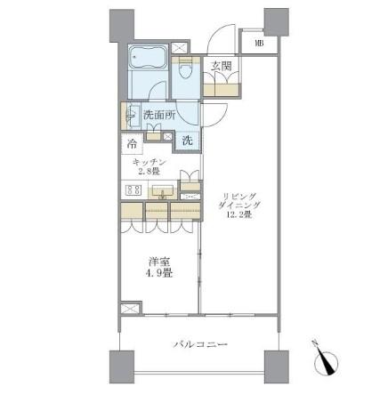 アパートメンツ三田802号室