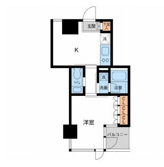レジデンス白金パークフロント403号室