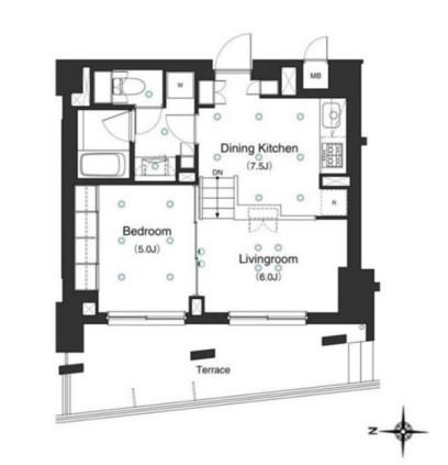 アパートメンツ白金三光坂101号室