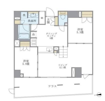 アパートメンツ白金三光坂103号室