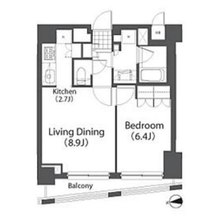 アパートメンツ白金三光坂203号室