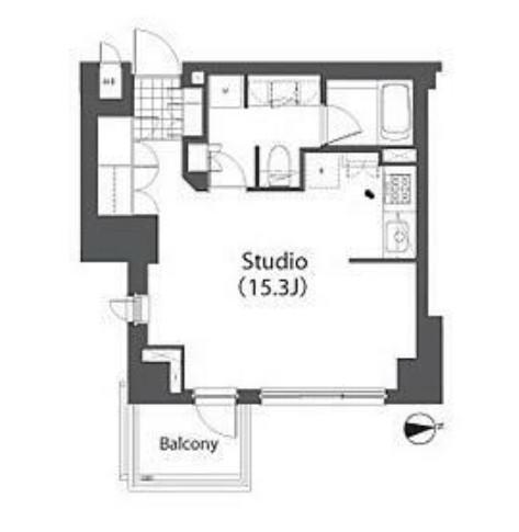 アパートメンツ白金三光坂208号室