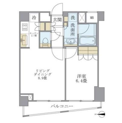 アパートメンツ白金三光坂404号室