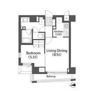 アパートメンツ白金三光坂405号室